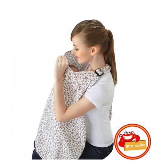 Áo choàng cho bé bú nơi công cộng