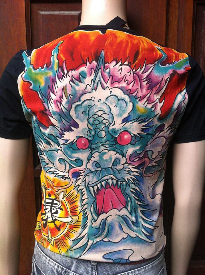 áo phông nam 7 viên ngọc rồng