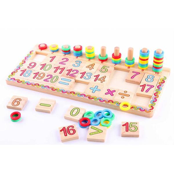 Bộ đồ chơi toán học logic